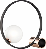 Mitzi HL155201-POC-BK Zena Modern Polished Copper / Black LED Table Light