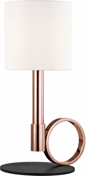 Mitzi HL158201B-POC-BK Tink Modern Polished Copper / Black Table Lamp
