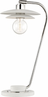 Mitzi HL175201-PN-WH Milla Modern Polished Nickel / White Table Light