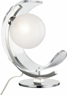 Mitzi HL186201-PN Arden Contemporary Polished Nickel LED Table Light