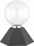 Mitzi HL243201-GRP Lynn Contemporary Graphite Table Top Lamp