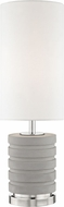 Mitzi HL250201-PN Iris Modern Polished Nickel Table Top Lamp