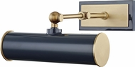 Mitzi HL263201-AGB-NVY Holly Contemporary Aged Brass / Navy 8  Picture Light