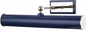 Mitzi HL263202-PN-NVY Holly Contemporary Polished Nickel / Navy 16  Painting Light Fixture
