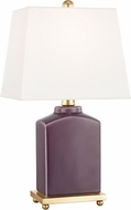 Mitzi HL268201-PL Brynn Plum Table Lighting