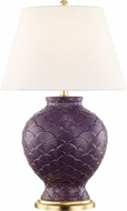 Mitzi HL269201-PL Demi Plum Table Lamp Lighting