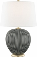 Mitzi HL270201-CH Jessa Charcoal Table Lamp