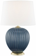 Mitzi HL270201-DBL Jessa Denim Blue Table Light