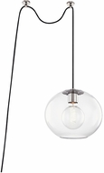 Mitzi HL270701L-PN Margot Contemporary Polished Nickel Ceiling Light Pendant