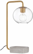 Mitzi HL280201-AGB Margot Contemporary Aged Brass Desk Lamp