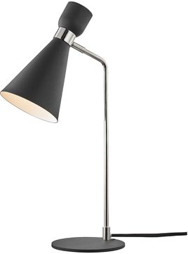 Mitzi HL295201-PN-BK Willa Modern Polished Nickel / Black Study Lamp