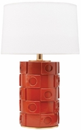 Mitzi HL334201-BO-GL Athena Modern Burnt Orange / Gold Leaf Floor Lighting
