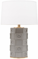 Mitzi HL334201-OG-GL Athena Modern Opal Gray / Gold Leaf Light Floor Lamp