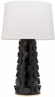 Mitzi HL335201-BLK-GL Naomi Contemporary Black / Gold Leaf Floor Lamp Lighting