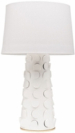 Mitzi HL335201-WH-GL Naomi Modern White / Gold Leaf Lighting Floor Lamp