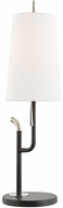 Mitzi HL349201-PN-BK Lillian Modern Polished Nickel / Black Floor Lamp Light