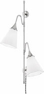 Mitzi HL356102-PN Mara Modern Polished Nickel Wall Swing Arm Lamp