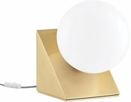 Mitzi HL385201-AGB Aspyn Contemporary Aged Brass Table Lamp