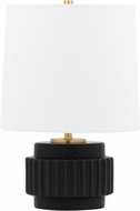 Mitzi HL452201-MB Kalani Modern Matte Black Accent Table Top Lamp