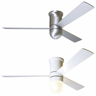 Modern Fan CIR-FM Cirrus Flush DC 50  Contemporary LED Ceiling Fan