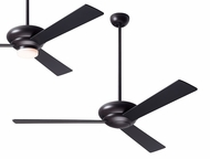 Modern Fan Company ALT-DB-BK Altus Modern Dark Bronze LED Ceiling Fan
