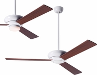 Modern Fan Company ALT-GW-MG Altus Modern Gloss White LED Home Ceiling Fan