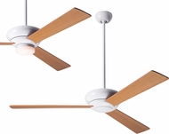 Modern Fan Company ALT-GW-MP Altus Modern Gloss White LED Ceiling Fan
