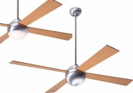 Modern Fan Company BAL-BA-MP Ball Contemporary Brushed Aluminum LED Home Ceiling Fan