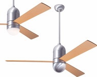 Modern Fan Company CIR-BA-50-MP Cirrus DC Contemporary Brushed Aluminum LED 50  Home Ceiling Fan