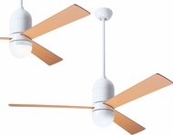 Modern Fan Company CIR-GW-50-MP Cirrus DC Contemporary Gloss White LED 50  Ceiling Fan