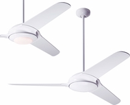 Modern Fan Company FLO-GW-52-WH Flow Modern Gloss White LED 52  Home Ceiling Fan