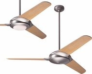 Modern Fan Company FLO-MN-52-BB Flow Modern Matte Nickel LED 52  Ceiling Fan