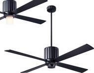 Modern Fan Company FLU-DB-52-BK Flute Contemporary Dark Bronze LED 52  Ceiling Fan