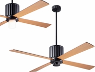 Modern Fan Company FLU-DB-52-MP Flute Contemporary Dark Bronze LED 52  Ceiling Fan