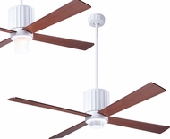 Modern Fan Company FLU-GW-52-MG Flute Contemporary Gloss White LED 52  Home Ceiling Fan