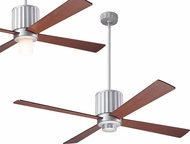 Modern Fan Company FLU-TN-52-MG Flute Modern Textured Nickel LED 52  Ceiling Fan