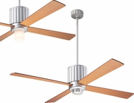 Modern Fan Company FLU-TN-52-MP Flute Modern Textured Nickel LED 52  Home Ceiling Fan