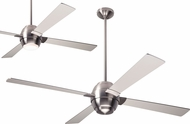 Modern Fan Company GUS-BN-56-NK Gusto Contemporary Bright Nickel LED 56  Home Ceiling Fan
