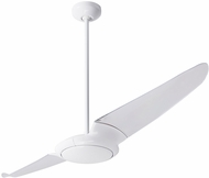 Modern Fan Company IC2-GW-56-CL IC/Air2 Modern Gloss White LED 56  Ceiling Fan