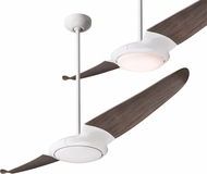 Modern Fan Company IC2-GW-56-GY IC/Air2 Contemporary Gloss White LED 56  Home Ceiling Fan