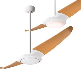 Modern Fan Company IC2-GW-56-MP IC/Air2 Contemporary Gloss White LED 56 Home Ceiling Fan