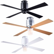 Modern Fan LAP-FM Lapa Flush Contemporary LED 50  Ceiling Fan
