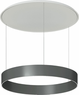 Molto Luce 678-00154102970a After 8 Contemporary Graphite Grey LED Pendant Lamp