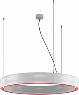 Molto Luce CHRM-40-30K-WH-RD-D Charm Contemporary White / Red LED Drop Ceiling Light Fixture