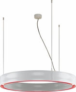 Molto Luce CHRM-40-30K-WH-RD-DI Charm Modern White / Red LED Drop Lighting Fixture