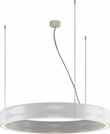Molto Luce CHRM-40-30K-WH-WH-DI Charm Contemporary White LED Pendant Light
