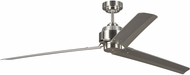 Monte Carlo Fans 3ARR68BS Arcade 68 Contemporary Brushed Steel 68 Home Ceiling Fan