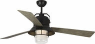 Monte Carlo Fans 3BTR54ANBZD Boynton 54 Modern Antique Bronze LED Outdoor 54  Home Ceiling Fan