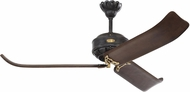 Monte Carlo Fans 3CPR60ATIHAB Cupra Traditional Antique Iron / Hand-Rubbed Antique Brass 60 Home Ceiling Fan