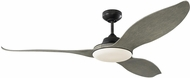 Monte Carlo Fans 3STR60AGPD Stockton Contemporary Aged Pewter LED 60 Home Ceiling Fan